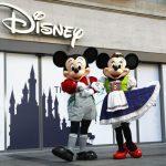 Eröffnung des Disney Stores in München