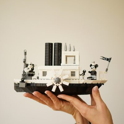 "Das LEGO Ideas Set ""Steamboat Willie"""