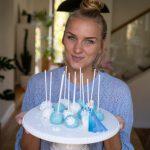 Rezept: Eiskönigin-Cake Pops